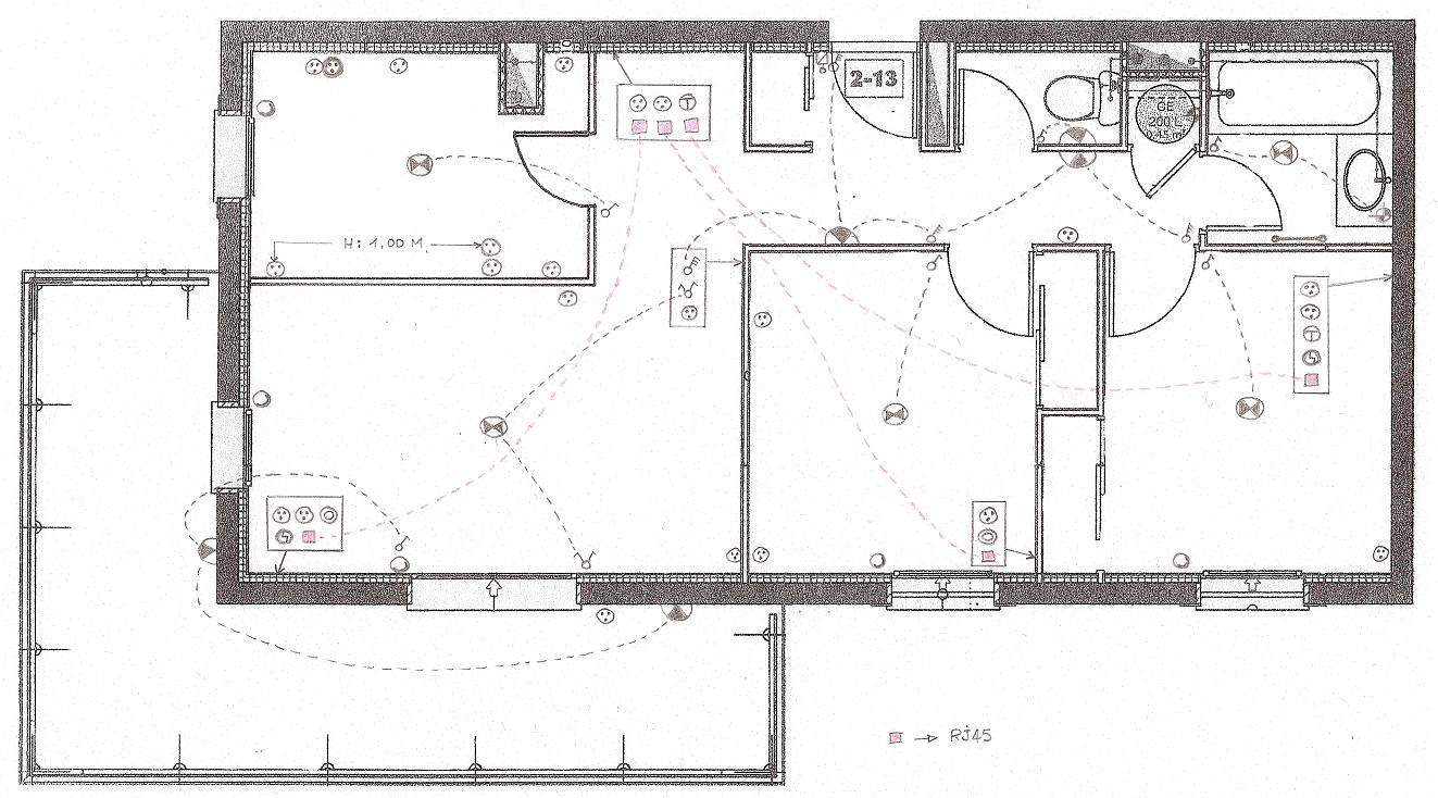 Célèbre Plan Installation Electrique Dune Maison – Maison Moderne OA93